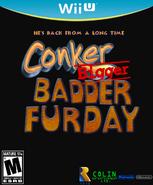 Conker Bigger Badder Fur Day Wii U Cover