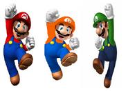Mario,Luigi and Gasparo