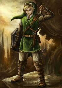 Steampunk-Link-the-legend-of-zelda-32056992-353-500