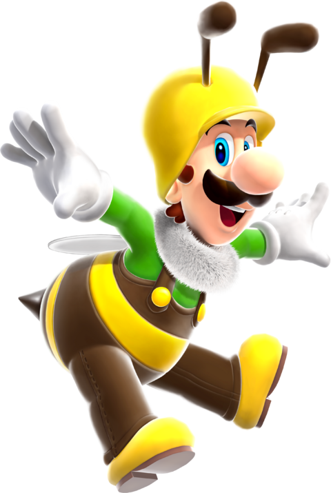 File:Bee Luigi.png