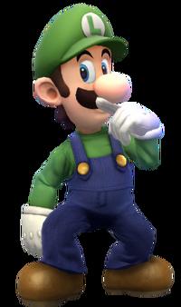 Luigi render by znkhucast-d78bvo2mine
