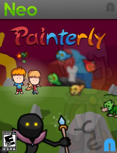 Painterly Boxart