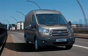 2014-Ford-Transit-van---on-the-road