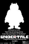 Undertale Movie Poster Toriel
