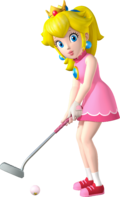 Princess Peach Artwork - Mario Golf World Tour