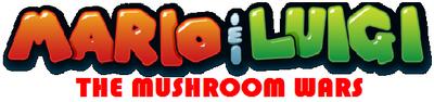 Mario&Luigi TheMushroomWars logo