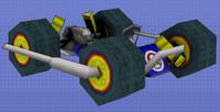 4-Wheels Cradle
