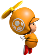 Propeller Orange Toad.