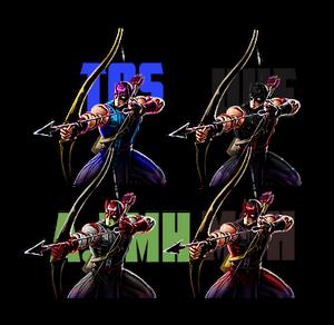 Hawkeye palette