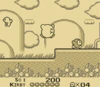 Kirbys Dream Land GBC ScreenShot4