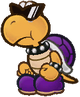 Purple Koopa troopa