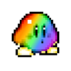 Rainbow Kirby Super Star