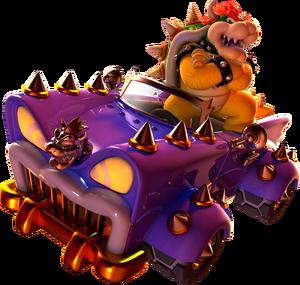 Bowser Artwork - Super Mario 3D World
