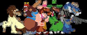 The Toon Patrol Weasels