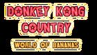 Donkey Kong Country World of Bananas Logo
