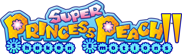 File:Super Princess Peach II Logo.png