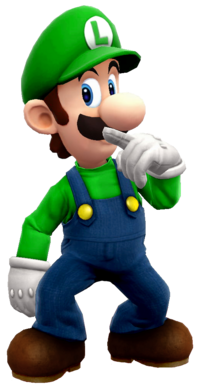 Luigi (recoloration) finish