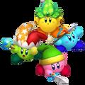 Colored kirbies