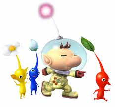 File:Olimar and pikmin.jpg