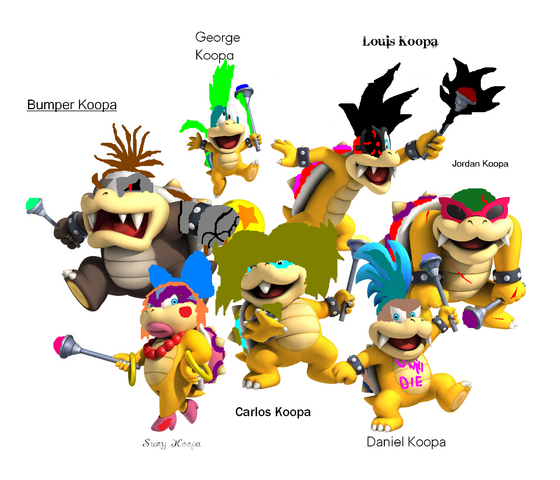 File:Ben's Koopalings.png