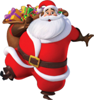 Santa claus render by knightblade619-d4iin6k
