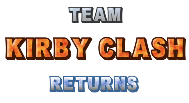 Team Kirby Clash Returns Logo