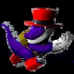 Croco In Super Smash Bros. Racing