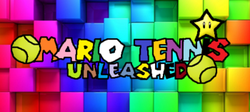 Mario tennis unleashed logo
