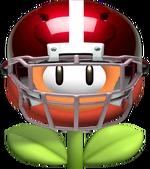 Football flower by machrider14-d5tph0u