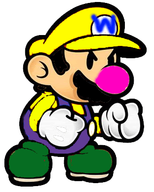File:Paper Mario desquised as Wario.png