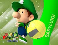 Baby Luigi Wall MDR