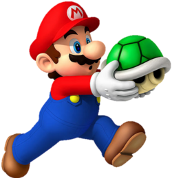 Mario Holding Shell
