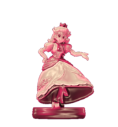 Pink gold peach amiibo