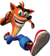 Crash bandicoot the huge adventure render crash by jerimiahisaiah-d8bhjyj