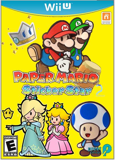 Paper Mario-Sticker Star 2