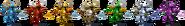 SSBRiot Shovel Knight Color Palettes