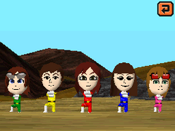 Mii rangers in tomodachi collection by uxie126-d672i05