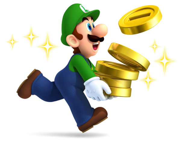 File:Luigi with Coins.png