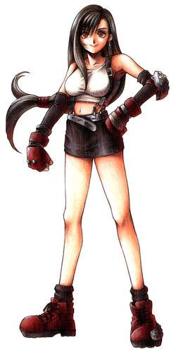 Tifa Lockhart Nomura art