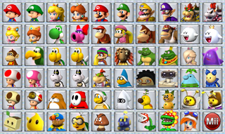 Mario Kart Wii 2.0 Selection Screen