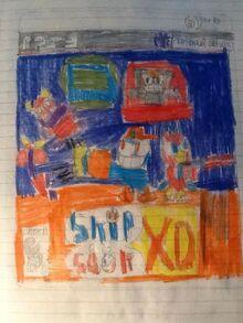 Skip and Sqak XD- Chaotic Galaxy PS3