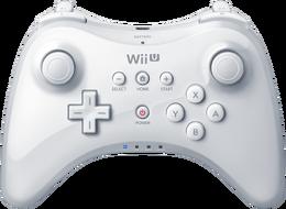Wii U Pro Controller White