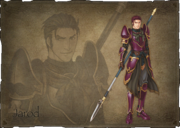 Fire Emblem 10 Jarod Portrait