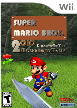 Knights of the Mushroomy Table Boxart