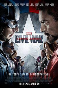 Captain America Civil War UK Poster