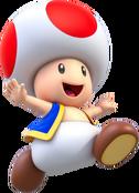 Toad Artwork - Super Mario Crystalline World