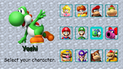 Select Screen Mario Kart ULTIMATE