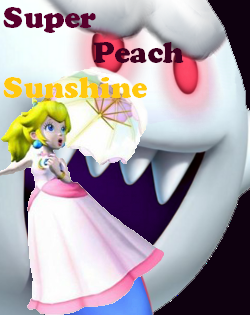 File:Super Peach Sunshine cover art.png
