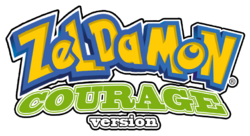 Zeldamon logo courage