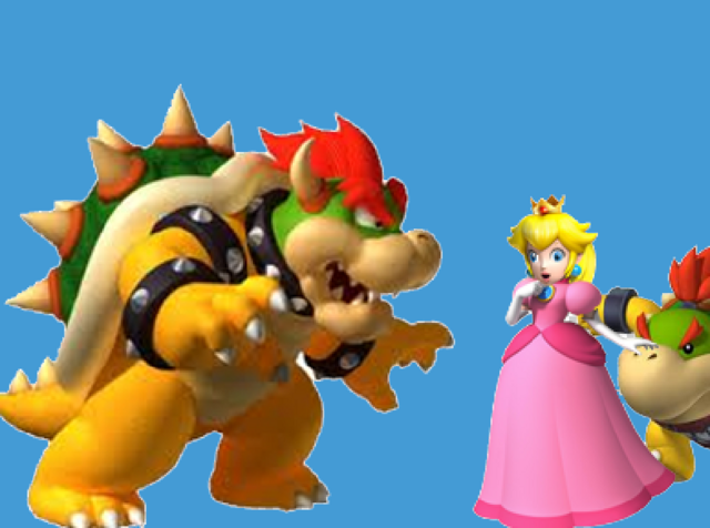 File:Bowser and Peach.PNG